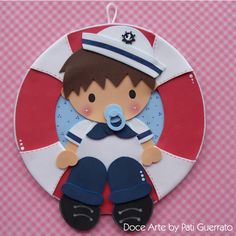Guirlanda Bebê Marinheiro