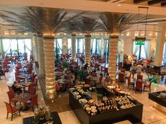 As one of the largest, most opulent Friday brunches in Dubai the city, the afternoon brunch at Al Qasr is spread across the entire ground floor of its sprawling hotel in Souk Madinat.