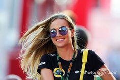 Carmen Jorda, Lotus F1 Team Development Driver (Hungary 2015)