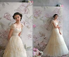 Sweet, romantic wedding dresses fit for a princess by Papilio