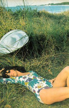 Ann Turkel photo Patrick Lichfield for Vogue 1970