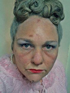 Halloween old person make up. Grandma make up. | Voluptacon\'s ...