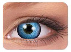 5872c5319f710c 1 boite de 2 lentilles ColourVUE Crazy Lens Space Blue . Ces lentilles pour  avoir les