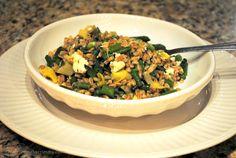 Farro Salad with Asparagus and Artichoke Hearts
