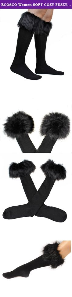 ECOSCO Women SOFT COZY FUZZY Faux Fur Leg Warmers Sock Boots Cuffs Cover Black. Fashion, stylish, versatile, soft, stretch, and comfy. Material: Faux Fur There may be some fallen hairs attached during production, you may tap it slightly to remove the hairs Size: Total Length: 45cm = about 17.7 inches. Free size/one size fits S to M. Dry clean only. Do not wash,bleach or iron. Easily scrunched into boots One pair per pack. Color: black ECOSCO Leg warmer.