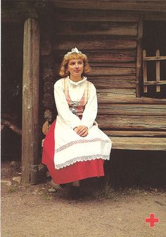 Traditional costumes Finland 6 by tucano3, via Flickr