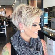 20 Nuevos estilos de cabello Pixie #PixieHairstylesLayered