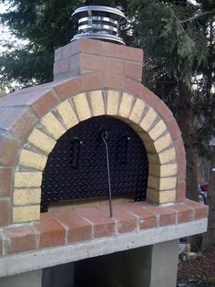 The Tildsley Family Wood-Fired DIY Brick Pizza Oven in Massachusetts - BrickWood Ovens
