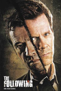 The Following (2013-2014) TV series...When escaped serial killer Joe Carroll goes on a new killing spree, reclusive former FBI agent Ryan Hardy is called in, having captured Carroll nine years ago. Hardy soon discovers that Carroll has a loyal following of killers ready to terrorize. Kevin Bacon, James Purefoy, Shawn Ashmore...TS drama