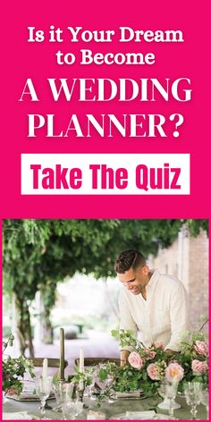 Is it Your Dream to Become a Wedding Planner? We've launched the careers of over 5,000 wedding planners with our certification courses. Find out your hidden #wedding planner talent in our FREE quiz! Wedding Gifts, Wedding Cakes, Wedding Planners, Beautiful Bride, Dreaming Of You, Brides, How To Become, How To Plan, Free