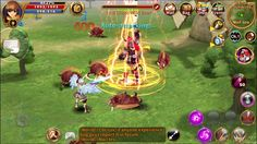 Light of Aiaran ACTION FANTASY Game #2 - Light of Aiaran is a Android Free 2 play Fantasy Role Playing MMO Game MMORPG featuring real-time Open Field Battles