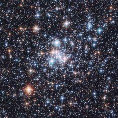 Open Cluster NGC 290: A Stellar Jewel Box   Credit: ESA & NASA; Acknowledgement: E. Olszewski (U. Arizona)