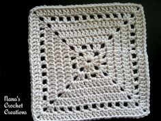 "Ravelry: Nana's ""Not a Latte Square"" pattern by Des Maunz"