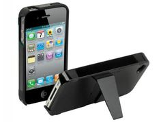 Scosche kickBACK g4 iPhone 4S Case ~ This would totally work for watching movies on iTunes...or Keynote presentations ;)