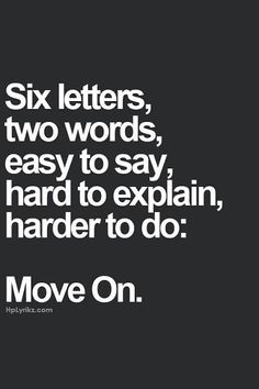 Move on..