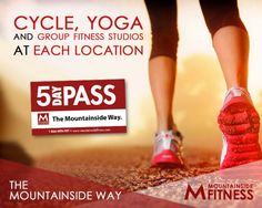 Do you prefer #Cycle class? #Yoga? Group #Fitness? Well choose no more, #MountainsideFitness has it all! Get your 5 day FREE pass for all our classes here.