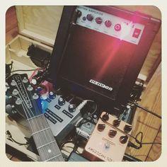 Cheap and simple guitar setup. #danelectro #joyo #guitar #guitarpedal #reverb #m3guitarworks #ampsim #cheapamp #indiepop @m3guitarworks