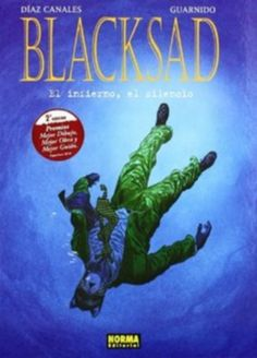 """Blacksad IV: el infierno, el silencio. Autor: Juán Díaz Canales, Juanjo Guarnido. Sinopse: Blacksad terá que atopar ao músico Sebastian """"Little hand"""" Fletcher en menos dun día, pero o que non sabe é que a cidade máis musical da EE UU esconde máis misterios que un pianista perdido… SIGNATURA: COMIC-E-10 (IV)"""