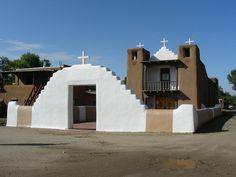 https://flic.kr/p/98e7rm | Catholic Mission Church at Taos Pueblo | Taos Pueblo, New Mexico