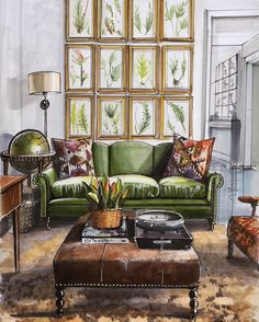 Learn to draw sketches from scratch. Interior sketching. The sketch markers. Drawings on the iPad. The online lessons. Interior sketch markers. Interior design. Sketches of furniture.