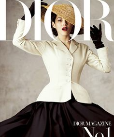 Move over, Vogue. There's a new glossy in town. Alright, so there's probably enough room on the rack for everyone, but we still think Dior's new magazine is gonna be a force to reckon with.