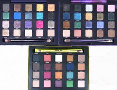 Urban Decay Vice 1, 2 & 3 Eyeshadow Palettes