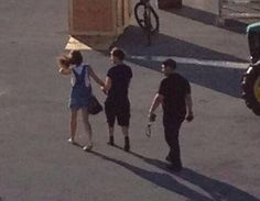 Louis Tomlinson and Eleanor Calder. Hershey, P.A. July 5, 2013!