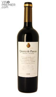 VINO TINTO PORTUGUES QUINTA DE PANCAS GRANDE ESCOLHA 2008 Vinos de Portugal…