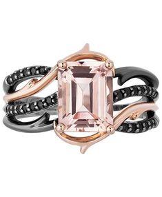 Rose cut Rose Quartz 14k rose gold ring valentines day custom pink gemstone ring asymmetrical solitaire rose quartz engagement ring