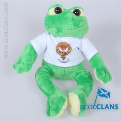 Robertson Clan Crest Frog. Free Worldwide Shipping Available