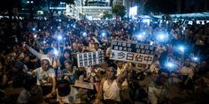 10 Striking Images From Hong Kong's Pro-Democracy Protests