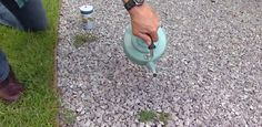 Killing Weeds Naturally in a Gravel Walk or Driveway Watch this video for tips on how to kill weeds Gravel Pathway, Outdoor Walkway, Gravel Driveway, Pea Gravel, Walkway Ideas, Landscaping Ideas, Home Design, Kill Weeds Naturally, How To Kill Grass