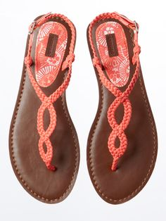 Like the bright Gladiator Sandals from Aeropostale - from Woman's Day