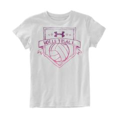 Girls' Under Armour Volleyball Shield Graphic T-Shirt