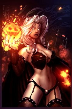 Lady Death_COLOR by `vest on deviantART