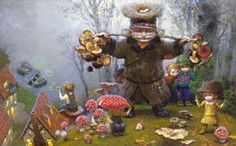 Victor Nizovtsev Fable and Fantasy giclees - thumbnail size