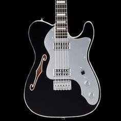 Fender Telecaster Thinline Super Deluxe RW - Black