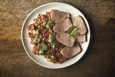 Pork Tenderloin and Brown Rice