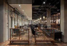 Mercato Restaurant by Neri in Shanghai, China.