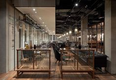 Mercato Restaurant by Neri in Shanghai, China.