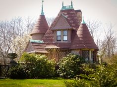 Just the gatehouse (for a Newport mansion)...out of Hansel & Gretel