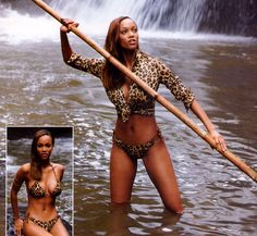 Tyra Banks ...... She is an American actress, television producer, author, television personality and former model.
