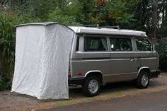 Look for ways to adapt this to a side opening shower area Vw T3 Westfalia, Eurovan Camper, Vw T3 Camper, Volkswagon Van, T3 Vw, Build A Camper Van, Travel Camper, Camper Life, Vw Camping