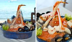 Seafood Tower at The Tides Restaurant Barbados