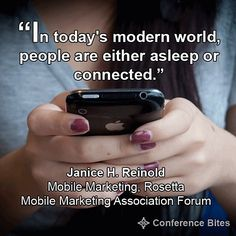 Janice Reinold - Mobile Marketing Association Forum English Quotes, Mobile Marketing, Conference, Best Quotes, Facts, Marketing Association, Digital, Tips, Innovation