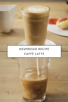 When it comes to classic coffee recipes, there's nothing more indulgent than this Caffè Latte from Nespresso. Milk and Vivalto Lungo coffee capsules are all you need to create this easy and delicious drink. Visit the Nespresso website to learn more.