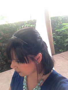 Penteado para casamento #cabelocurto