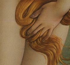Sandro Botticelli, The Birth of Venus (detail), 1486.