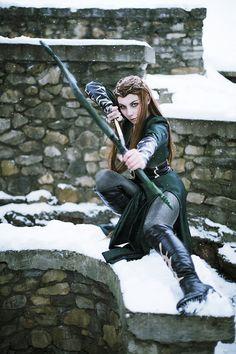 Tauriel (The Hobbit) Cosplay