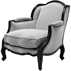 Eichholtz Hilary Chair ($1,610) ❤ liked on Polyvore featuring home, furniture, chairs, accent chairs, black, fabric accent chairs, black fabric chair, upholstery furniture, upholstered furniture and onyx lounge